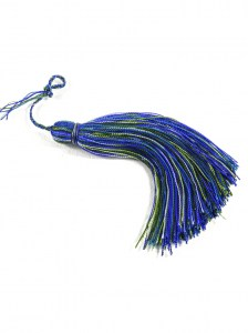 Handcrafted-Blue-and-Green-Thread-Tassel3