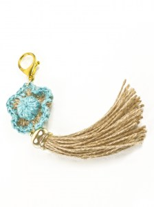 Handcrafted-Turquoise-Agave-Fiber-Tassel