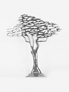 BONSAI TREE PEWTER