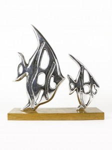 FISH SET PEWTER