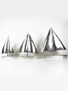 SAILBOAT PEWTER